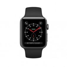 Smartwatch Apple Watch 3 GPS, 38mm, Space Grey si bratara Sport Black