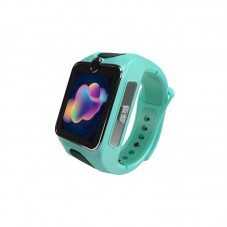 Smartwatch MyKi Junior 3G cu apel video, Special Edition, green