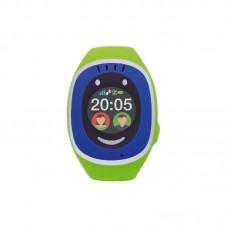 Smartwatch MyKi Touch de urmarire si localizare GPSGSM pentru copii, bluegreen