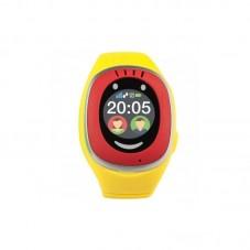 Smartwatch MyKi Touch de urmarire si localizare GPSGSM pentru copii, redyellow