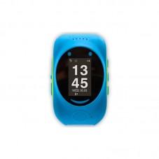 Smartwatch MyKi Watch de urmarire si localizare GPS/GSM pentru copii, Albastru Verde