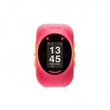 Smartwatch MyKi Watch de urmarire si localizare GPSGSM pt copii, pinkyellow