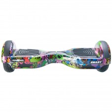 Scooter Electric (Hoverboard) Freewheel SMART - Graffiti, purple