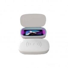 Sterilizator UV BigBen cu incarcare wireless, white