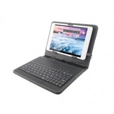 Husa cu tastatura USB E-Boda pt tablete 7.85 black