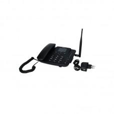 Telefon fix MaxCom Comfort MM41D, Android, 4G, black