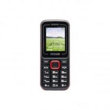 Telefon mobil E-Boda Freeman Speak T130 1.77 Dual SIM + SIM prepay, blackred