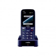 Telefon mobil E-Boda Senior S200D Dual SIM 2.4 + SIM Prepay Cadou, black