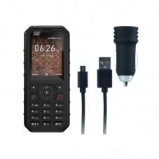 Telefon Caterpillar CAT B35 4G Dual SIM, black + car charger