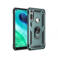 Husa protectie spate Atlas Jar pt Huawei P40 lite, green