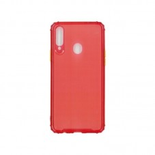 Husa protectie spate Millo Matte Crack pt Samsung Galaxy A20s, red