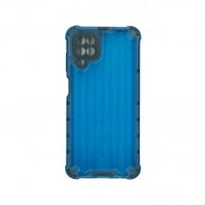 Husa protectie spate Millo Millo Antishock Hexa pt Samsung Galaxy A12, blue