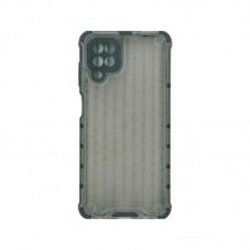 Husa protectie spate Millo Antishock Hexa pt Samsung Galaxy A12, black