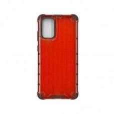 Husa protectie spate Millo Antishock Hexa pt Samsung Galaxy A12, red