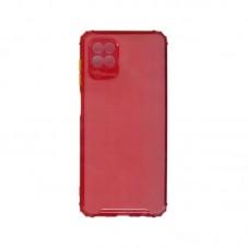 Husa protectie spate Millo Matte Crack pt Samsung Galaxy A12, red