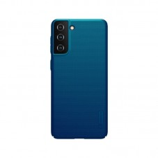 Husa protectie spate Nillkin Super Frosted Shield Matte pt Samsung Galaxy S21, peacock blue