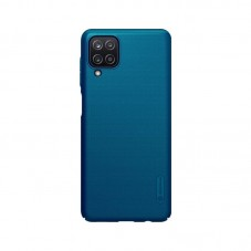 Husa protectie spate Nillkin Super Froted Shield Matte pt Samsung Galaxy A12, blue