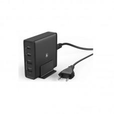 Statie incarcare Hama 2 x USB 2 x USB Type-C, black