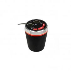 Transmitator Bluetooth FM iBox FMT2BT, black