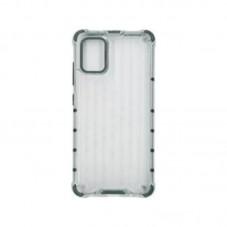 Husa protectie spate Millo Matte Crack pt Samsung Galaxy A51, white