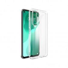 Husa protectie spate Millo Silicon pt Huawei Huawei P40 lite 5G, transparent