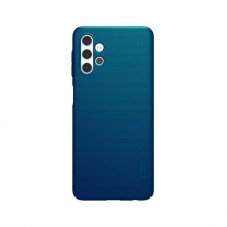 Husa protectie spate Nillkin Super Frosted Shield Matte pt Samsung Galaxy A32 5G, peacock blue