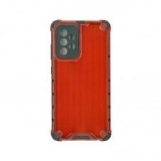 Husa protectie spate Millo Antishock Hexa pt Samsung Galaxy A52 5G, red