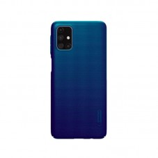 Husa protectie spate Nillkin Super Frosted Shield Matte pt Samsung Galaxy M31s, peacock blue