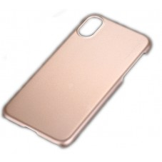 Husa protectie spate X-level metallic gold pt iPhone X