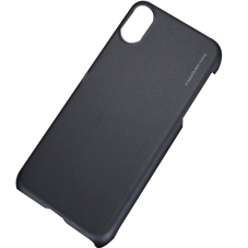 Husa protectie spate X-level metallic black pt iPhone X