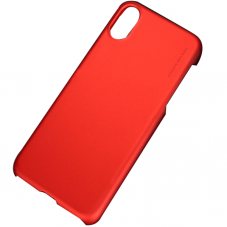 Husa protectie spate X-level metallic red pt iPhone X