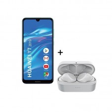 Pachet Huawei Y7 2019 + Celly Buds Mini Wireless