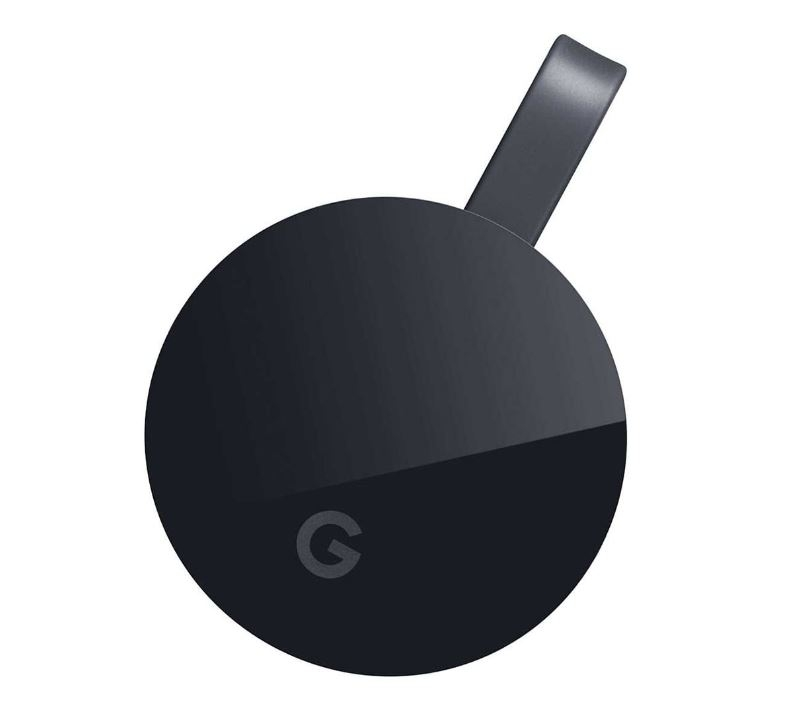 Dispozitiv Chromecast Google ultra hdmi streaming media player black