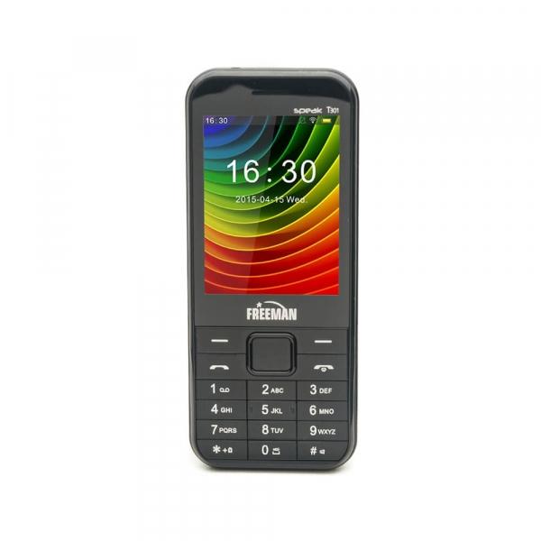 Telefon Dual SIM E-Boda Freeman Speak T301 black