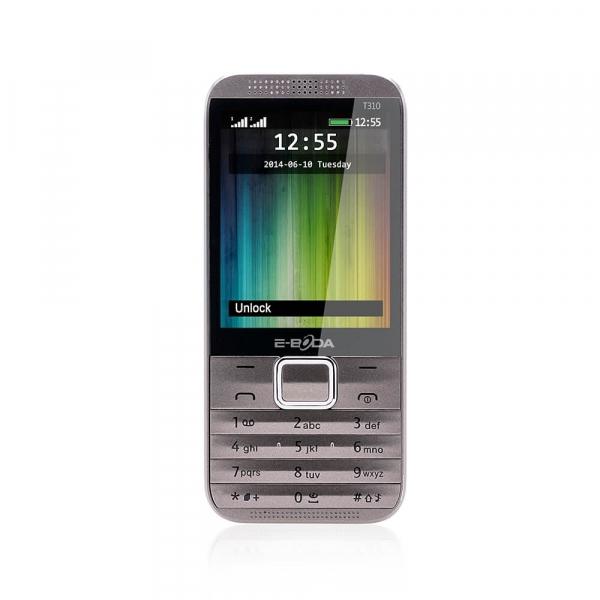 Telefon Dual SIM E-Boda T310 brown + spinner