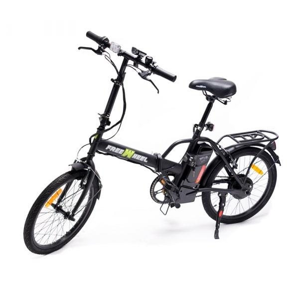Bicicleta Electrica FreeWheel EBike Urban black