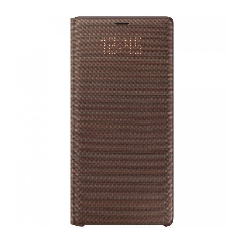 Husa Samsung Led View Cover brown pt Samsung Galaxy Note 9 EF-NN960PAEGWW