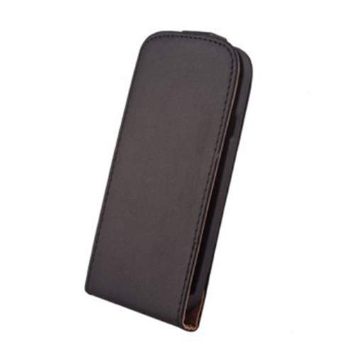 Husa flip Elegance black pt Samsung Galaxy Core LTE G386