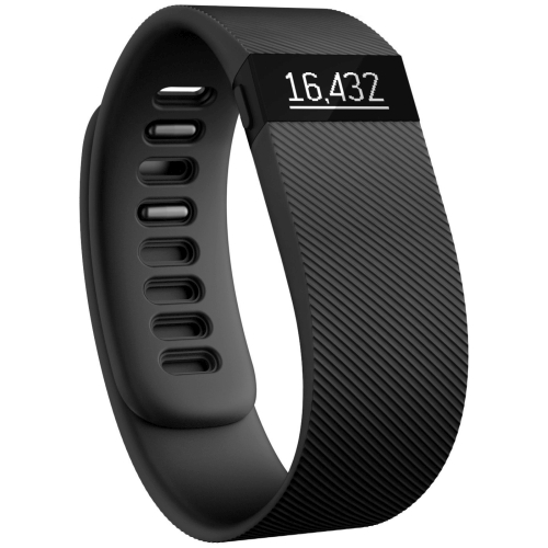 Bratara Fitbit Charge Activity / Sleep tracker marime L black