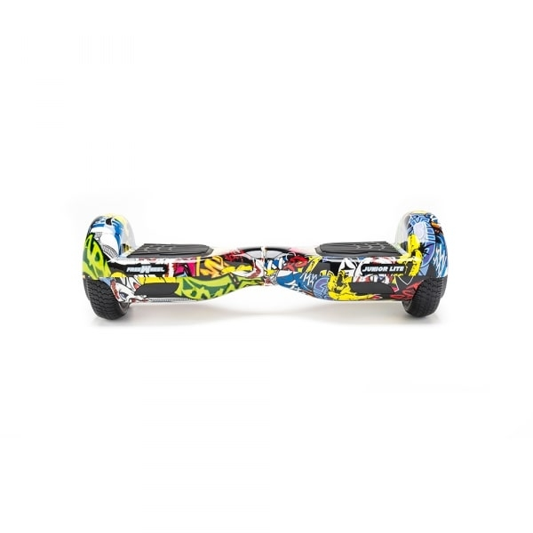 Scooter Electric (Hoverboard) Freewheel Junior Lite - Graffiti yellow