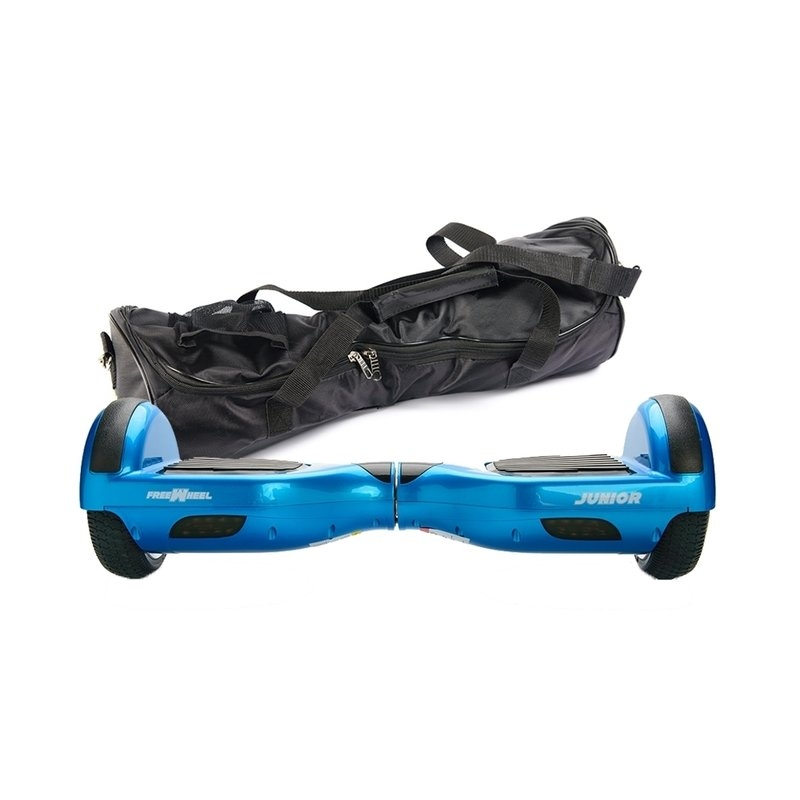 Scooter electric (hoverboard) Freewheel Junior blue + husa cadou