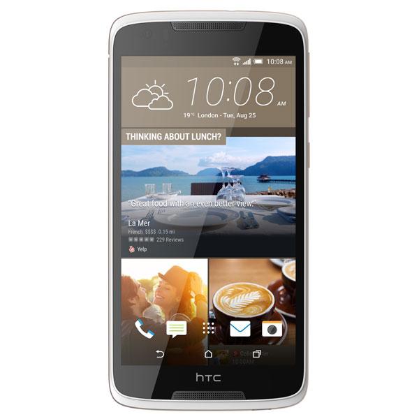 """HTC Desire 828 4G Dual SIM 5.5"""""""" Octa-Core 16GB pearl white"""