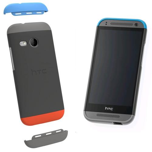 Husa protectie spate HTC HC C971 grey pt HTC One Mini 2