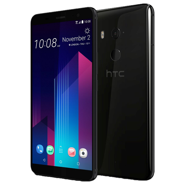 """HTC U11+ 6"""""""" 4G Octa-Core 6GB RAM 128GB black"""