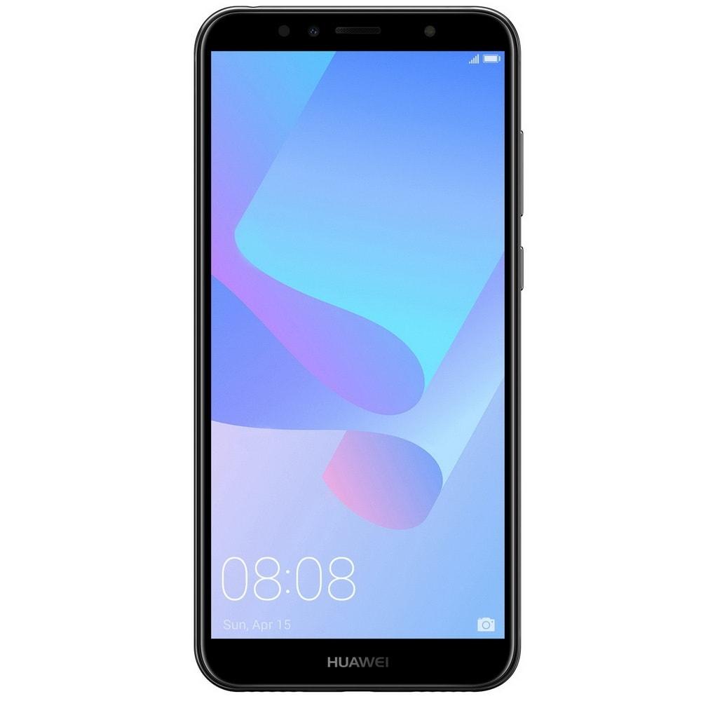 "Smartphone Huawei Y6 (2018) Dual SIM 4G 5.7"""" 16GB black"