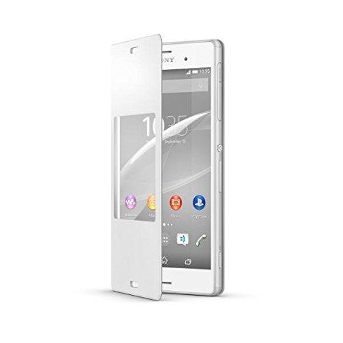Husa Sony book window white pt Xperia Z3