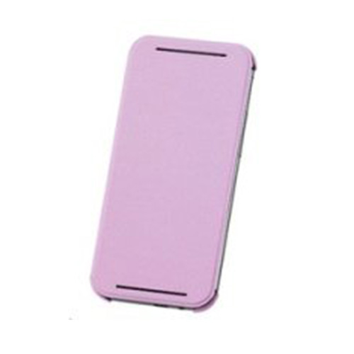 Husa HTC flip HCV941 pink pt One M8