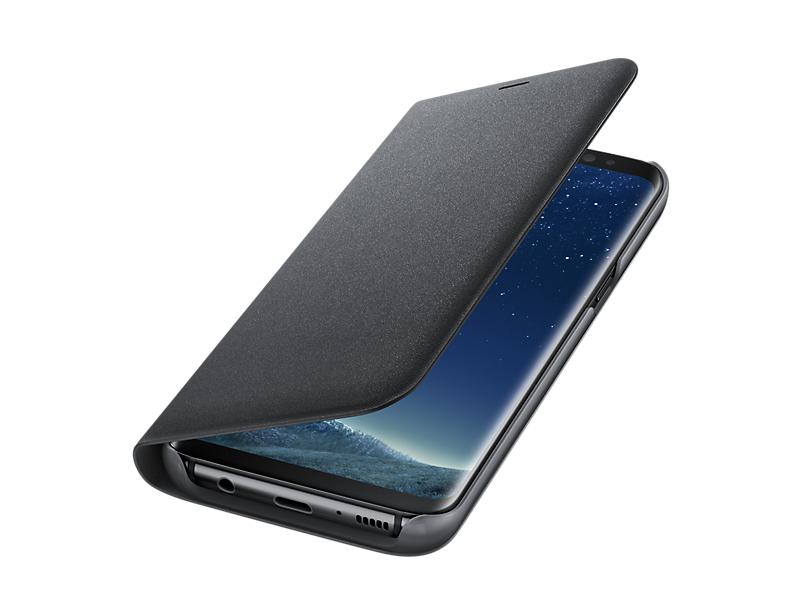 Husa Samsung LED View Cover EF-NG950PBEGWW pt G950 Galaxy S8 black