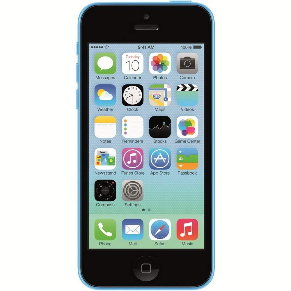 Smartphone Apple iPhone 5C LTE 16GB blue Resigilat