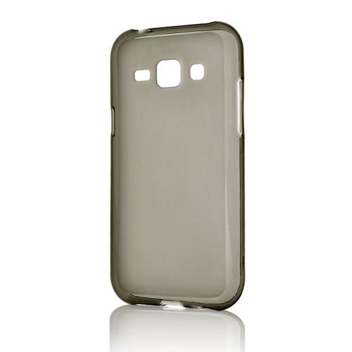 Capac protector Lemontti silicon si Folie pt Samung G318 Galaxy Trend 2 Lite black transparent
